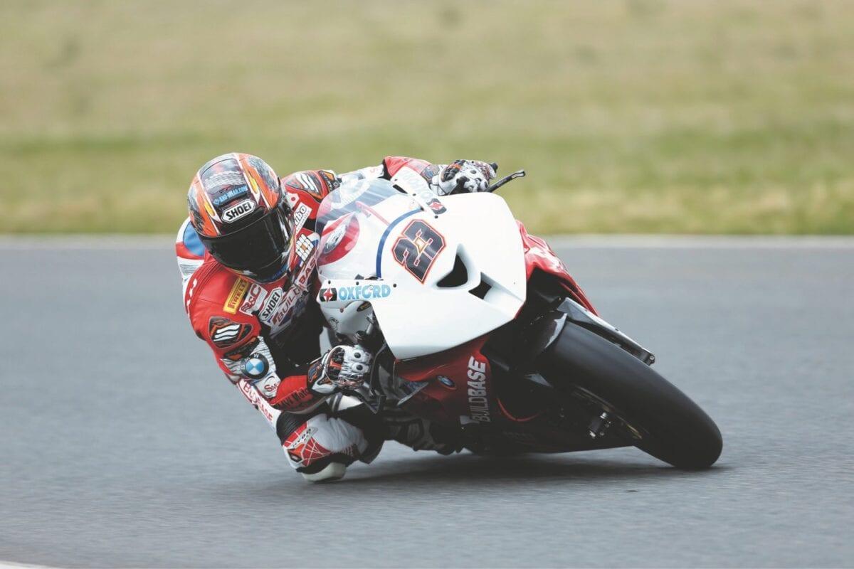 Ryuichi Kiyonari testing at Snetterton