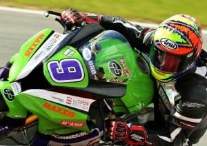 Chris Walker testing at Cartagena