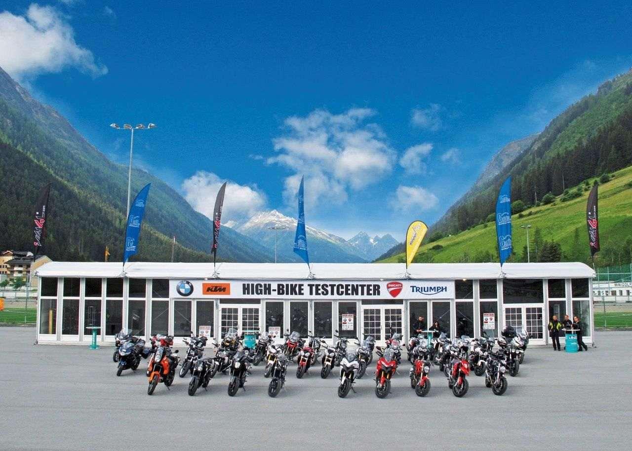 Ischgl - High-Bike Test Centre
