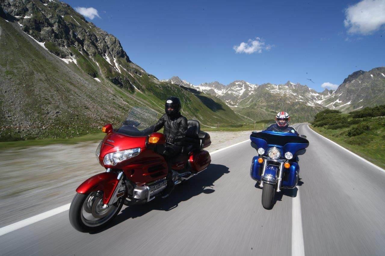 Ischgl - High-Bike on the road