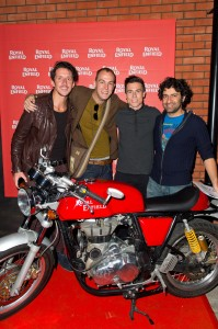 Martin-Finnigan-and-Steve-Irlam-from-The-Rainband,-James-Toseland-and-Siddhartha-Lal