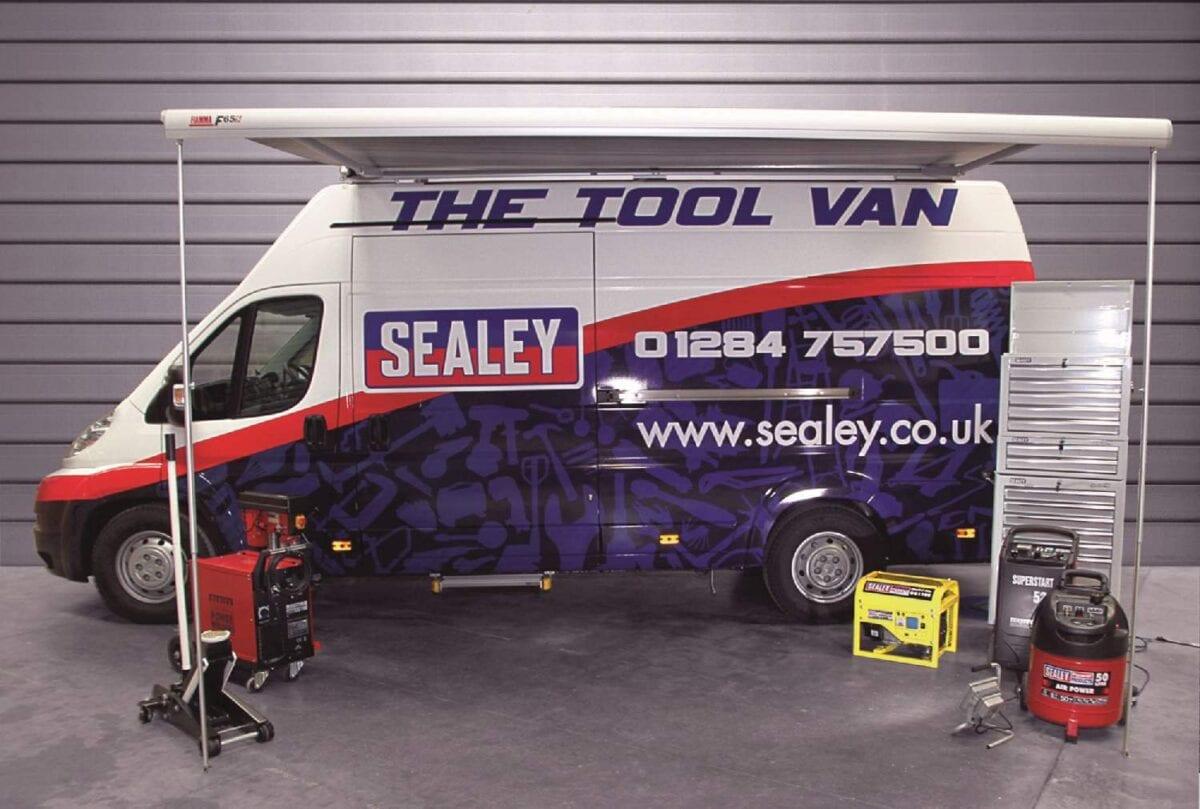 The Sealey Tool Van