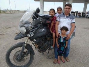 The family that rescued me and my stranded bike!