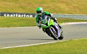 James Ellison at Snetterton