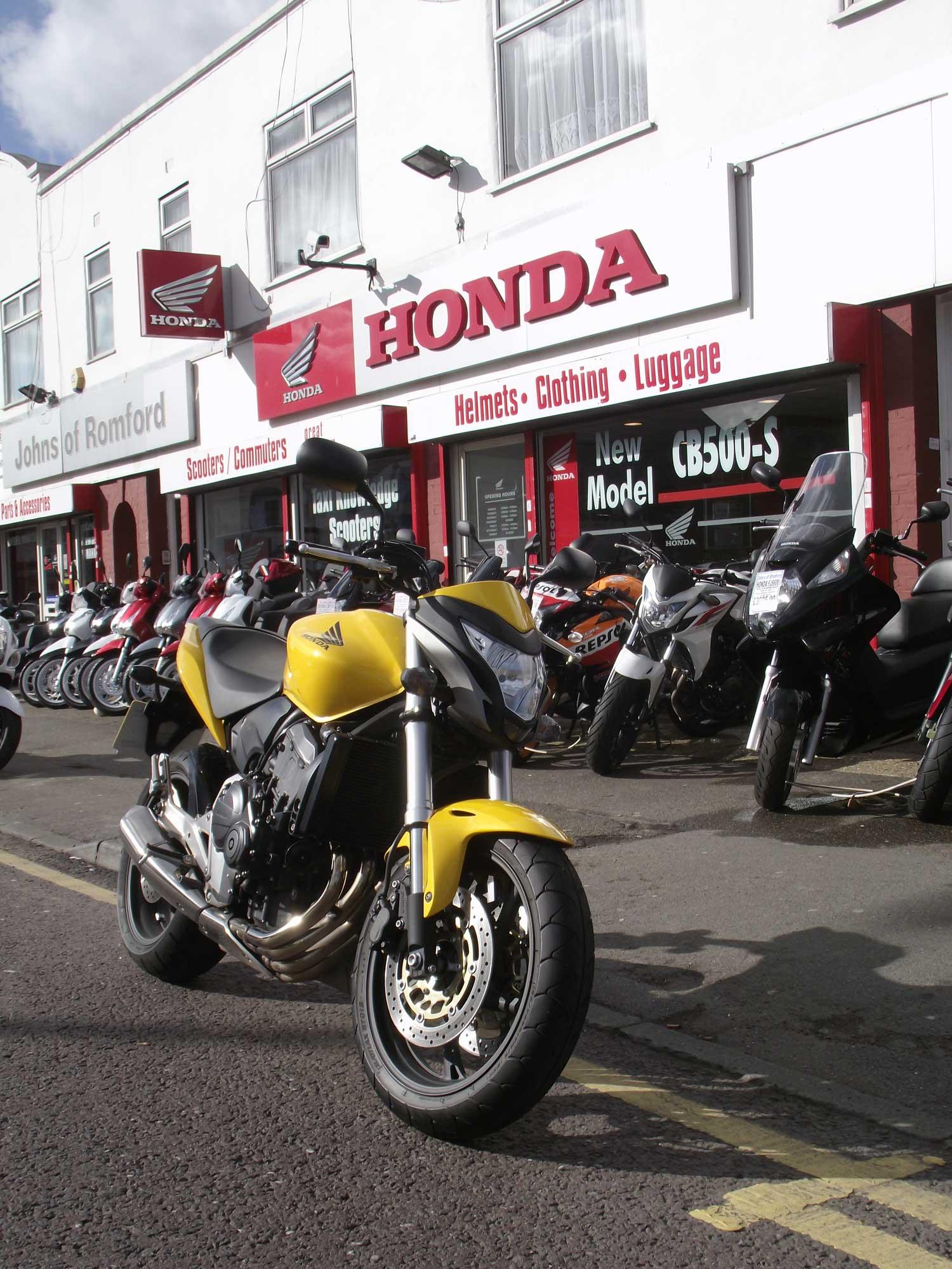 2012 Honda CB650F Hornet