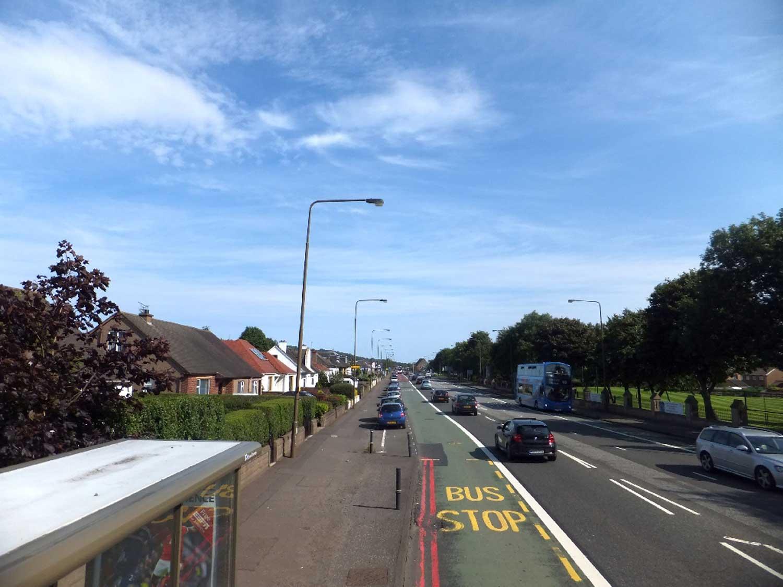 Edinburgh Bus Lane