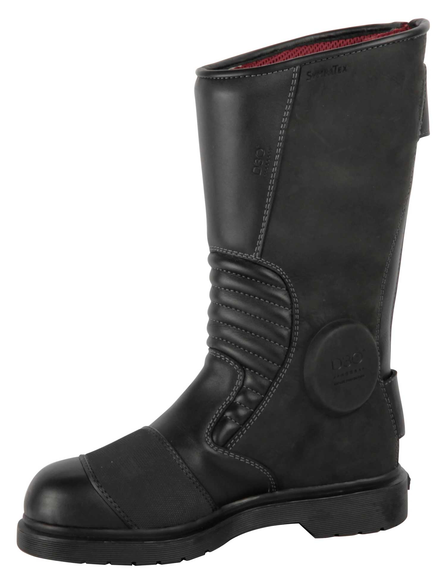 The Dr Marten Garrick motorcycle boot