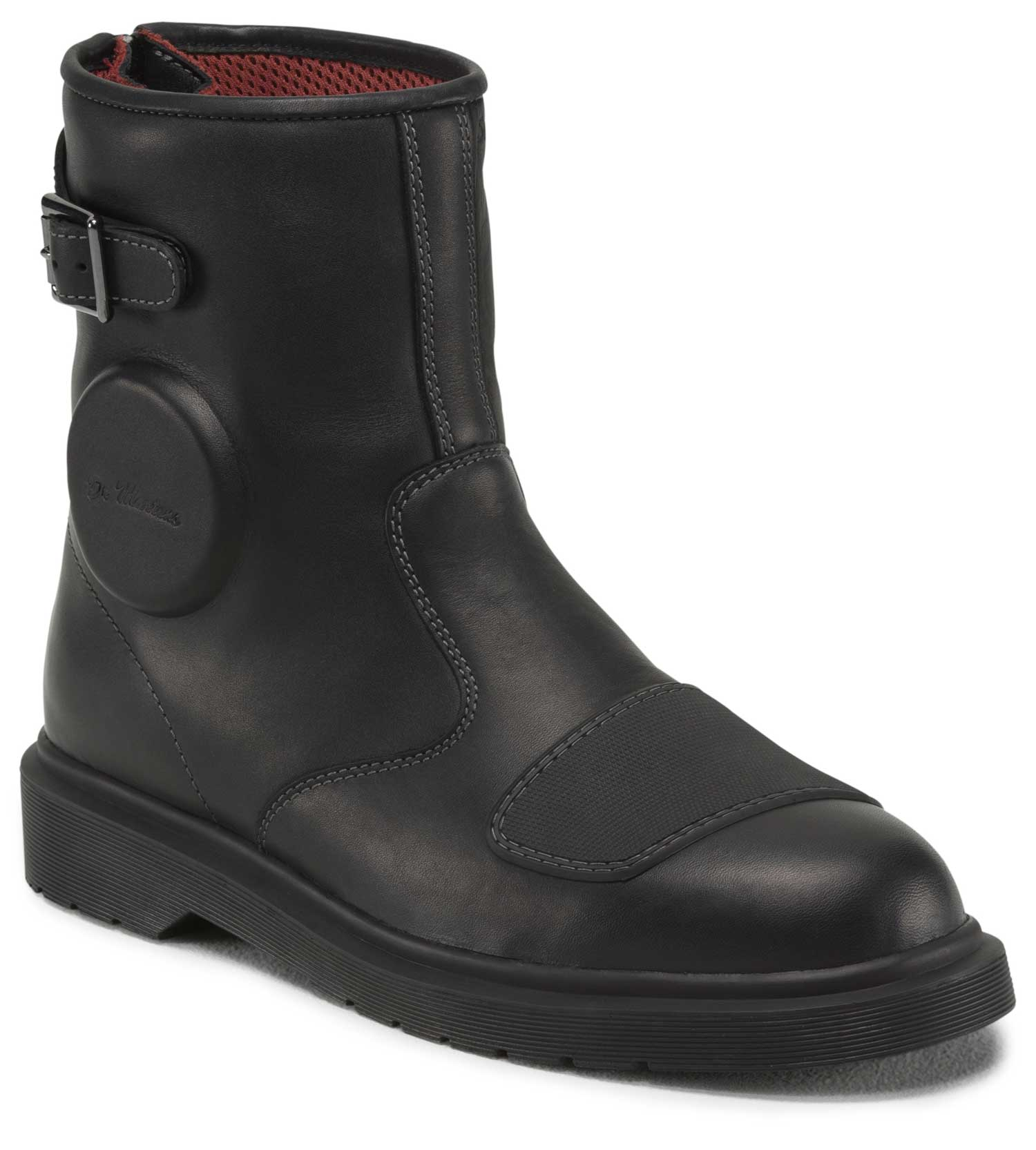 The Dr Marten Faris motorcycle boot