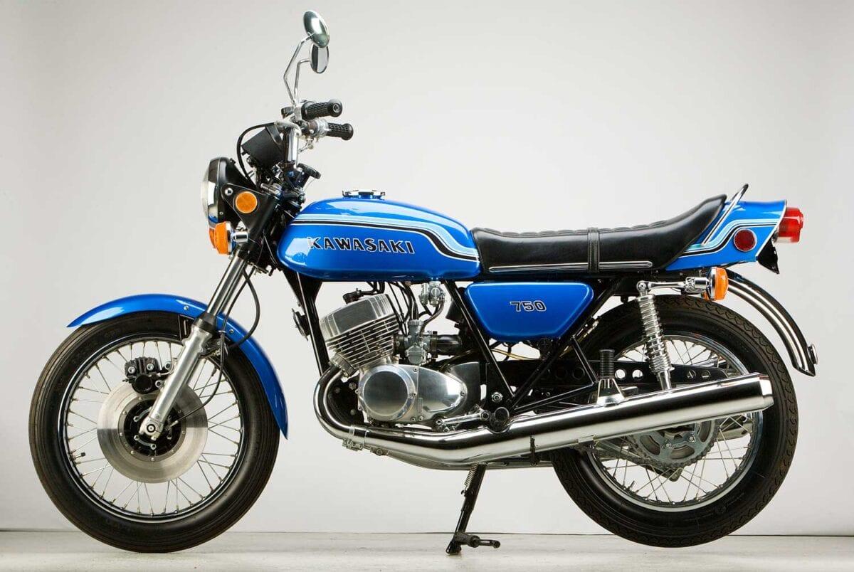 Kawasaki's original Mach IV 750 H2