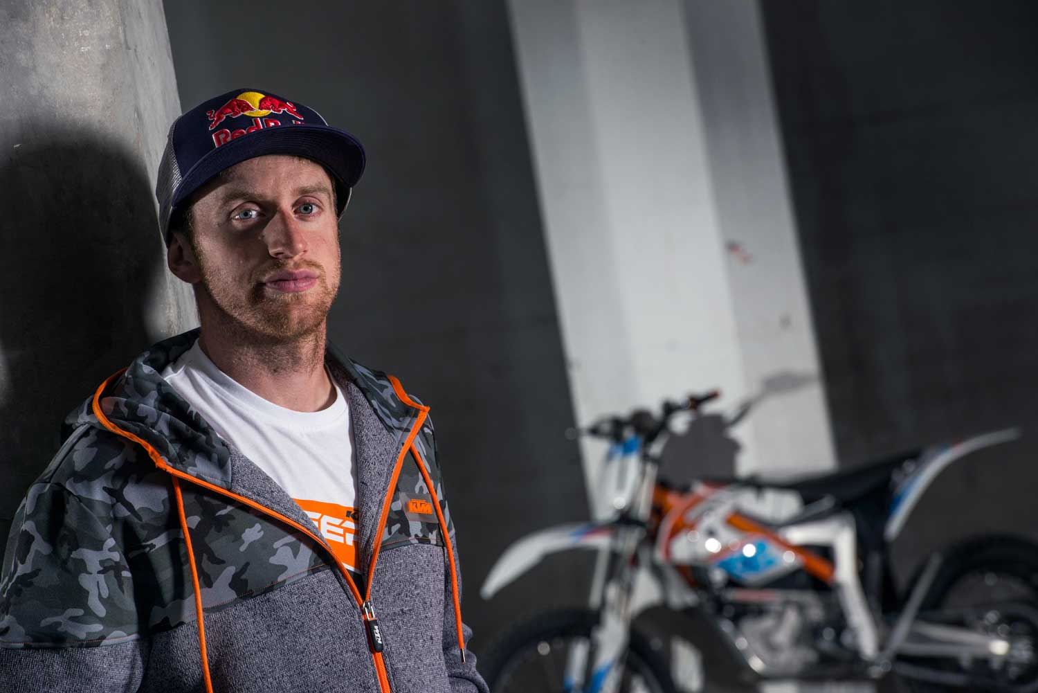 Danny MacAskill with the KTM Freeride E