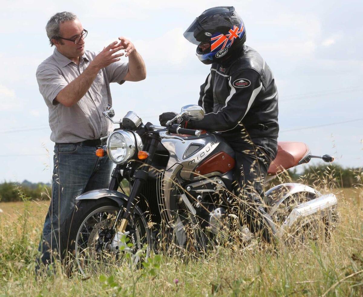 Olivier Midy talks to Alan Cathcart