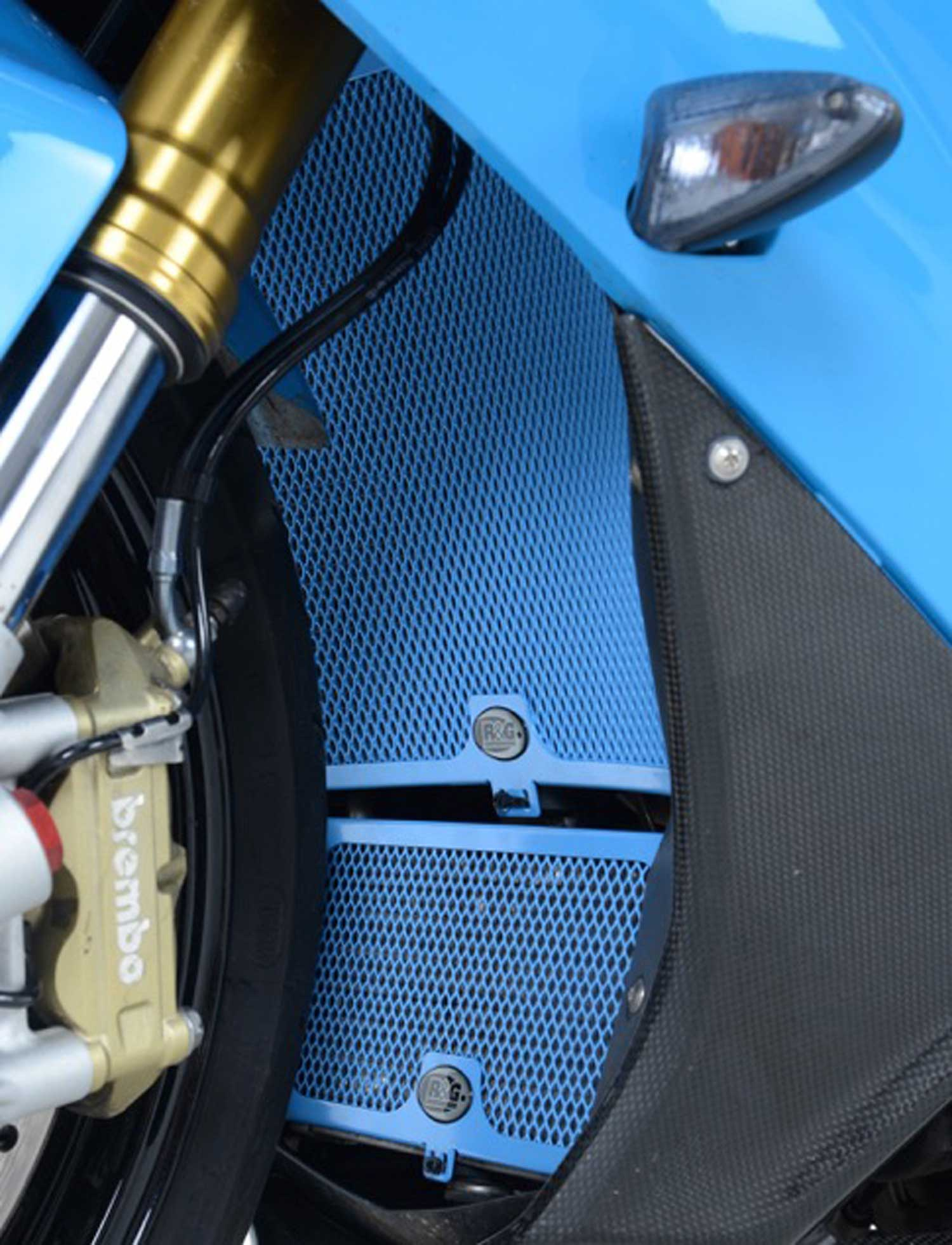 motorcycle radiator covers