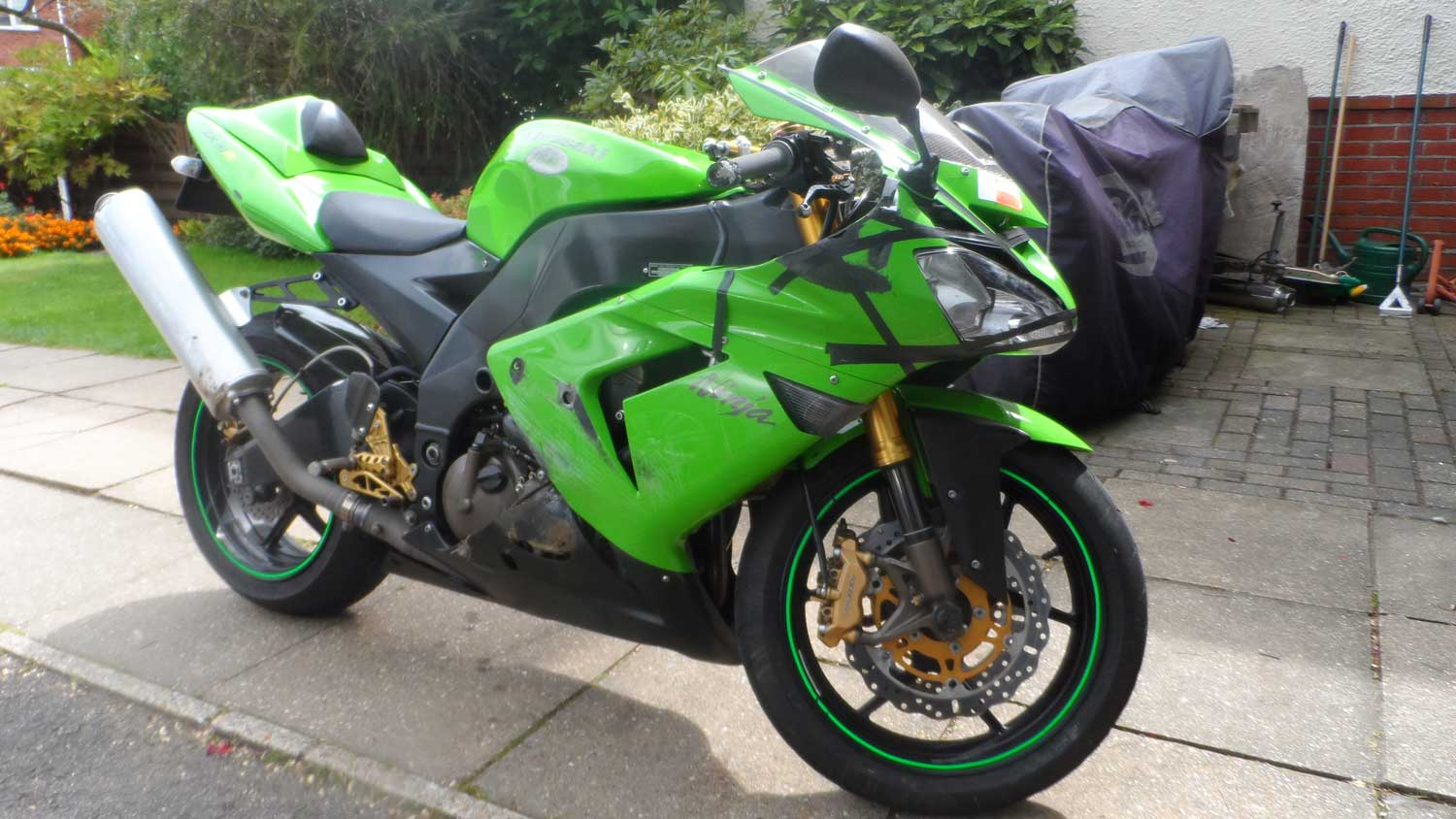 R&G crash protection zx10r 001