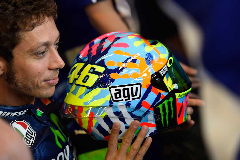 Valentino Rossi AGV Corsa replica helmet 001