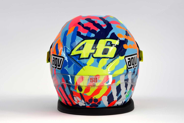 Valentino Rossi AGV Corsa replica helmet 002