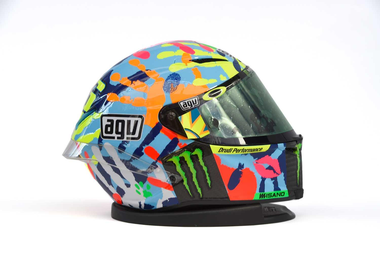 Valentino Rossi AGV Corsa replica helmet 003