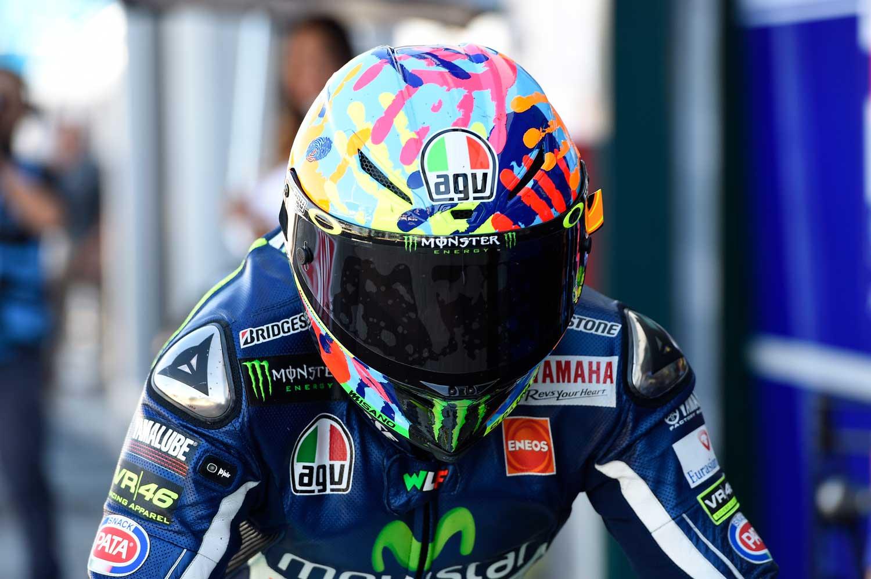 Valentino Rossi AGV Corsa replica helmet 004