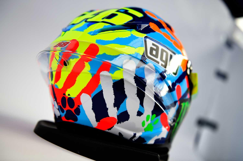 Valentino Rossi AGV Corsa replica helmet 005