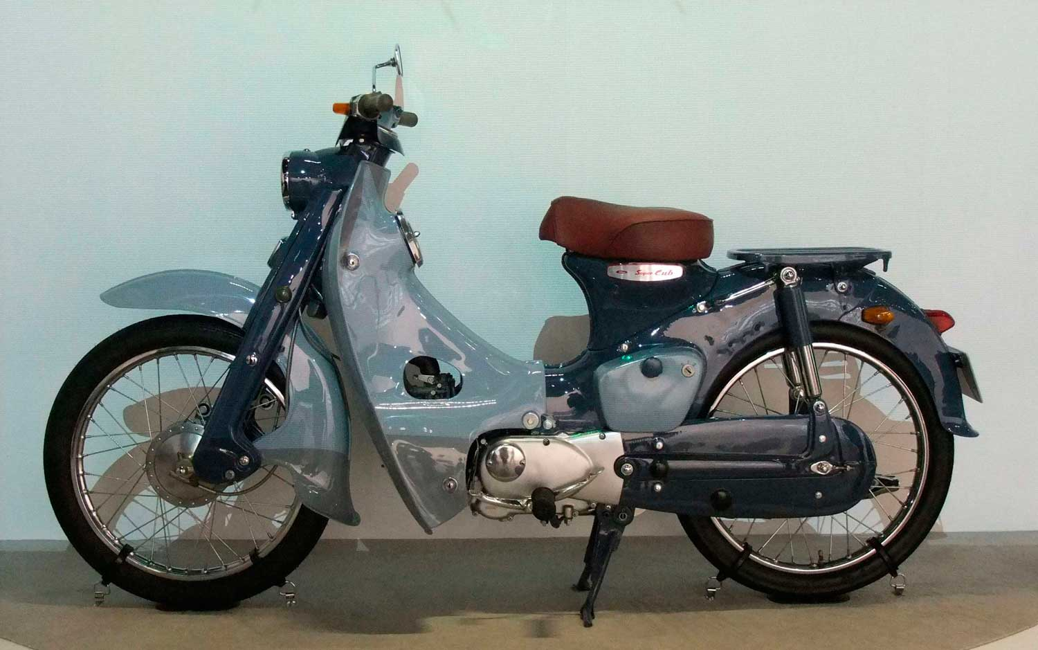 The Super Cub – the most popular motorcycle in the world!