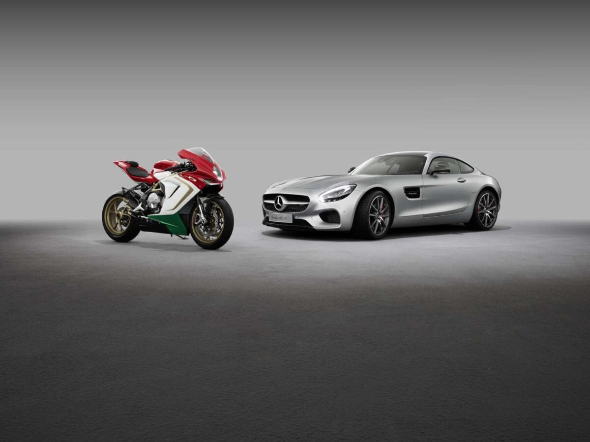 MV agusta and Mercedes