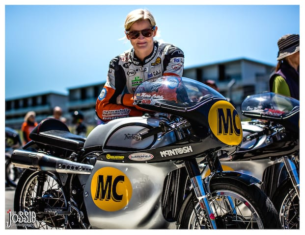 Maria Costello at the Barry Sheene Classic2