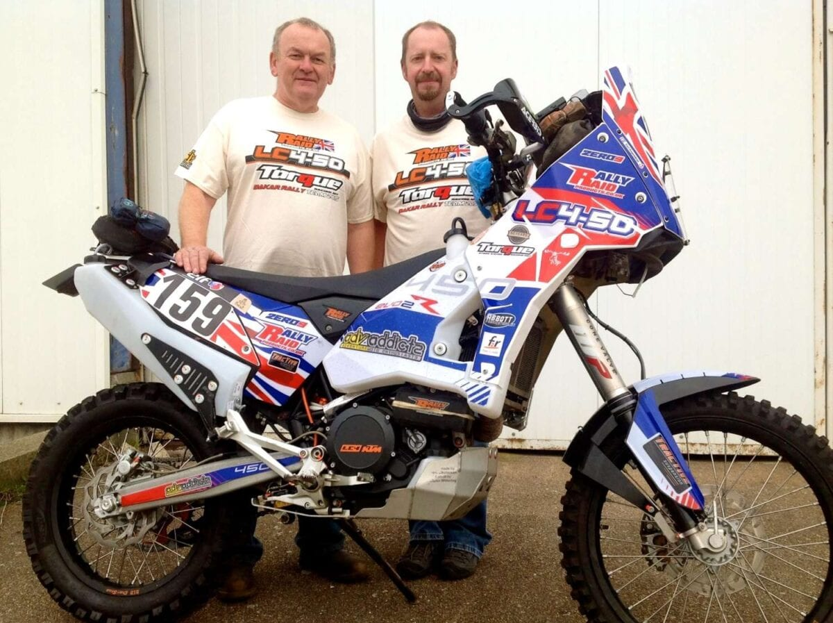 Dakar-rally-LC4-50-with development engineers-John-Mitchinson-and-Martin-Wittering