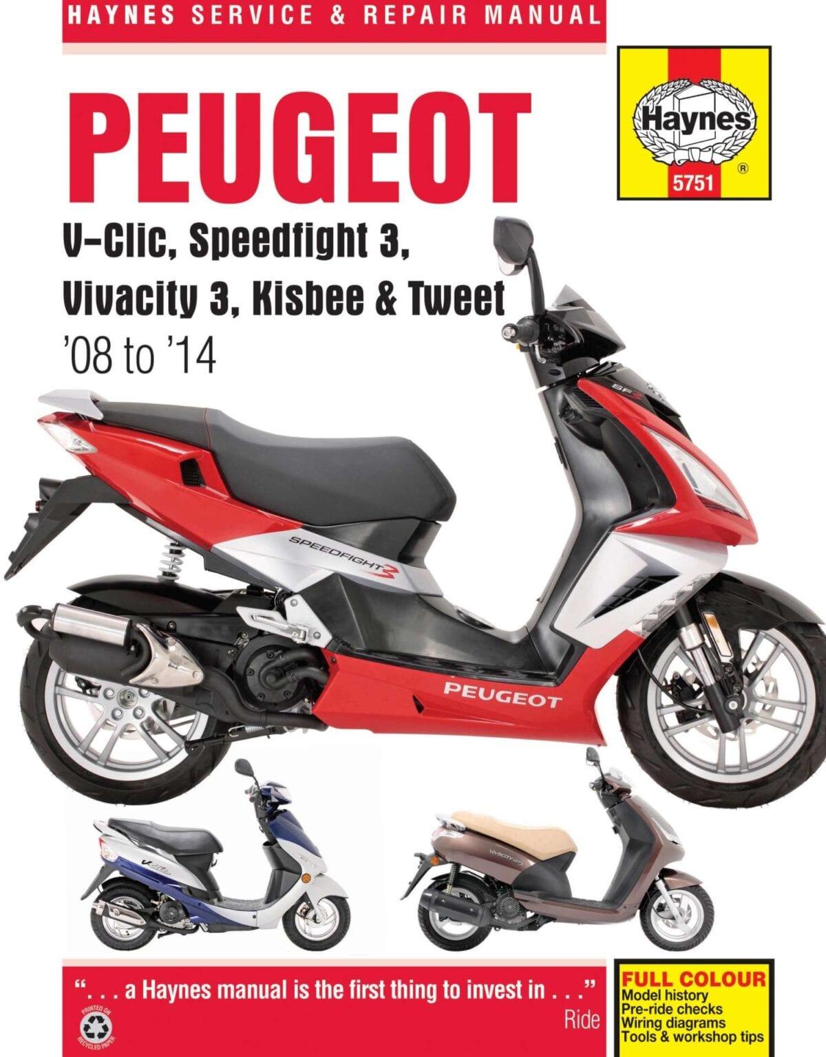 Peugeot-Scooters-haynes-Manual