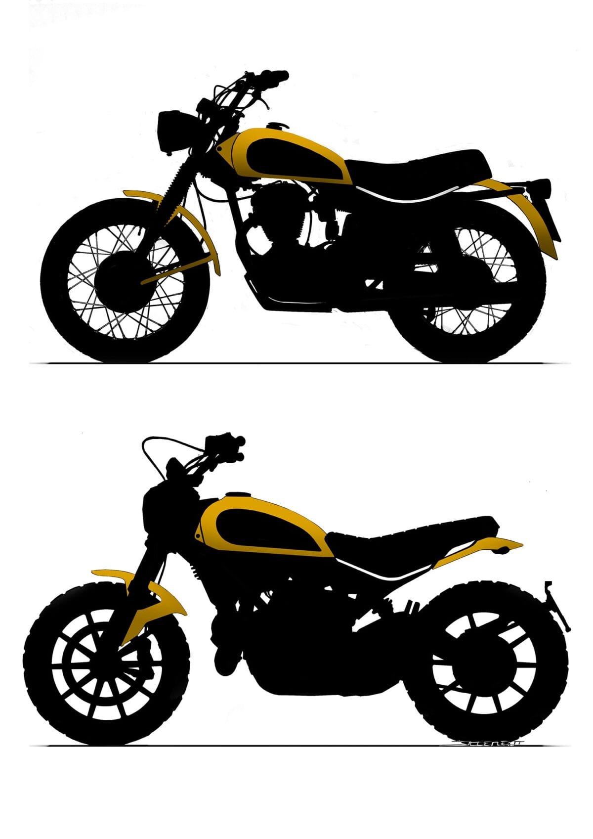 SCRAMBLER-SKETCH-ICONIC-ELEMENTS