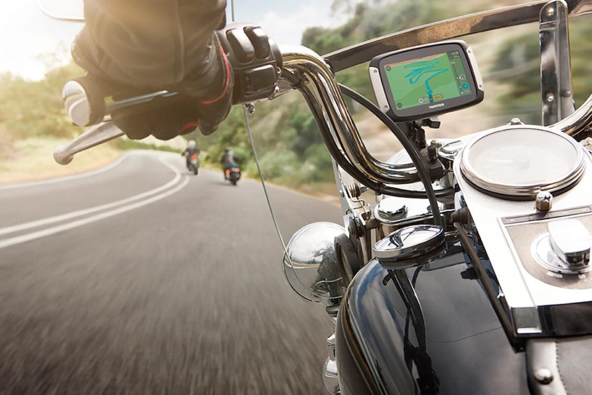 TomTom Motorcycle Rider