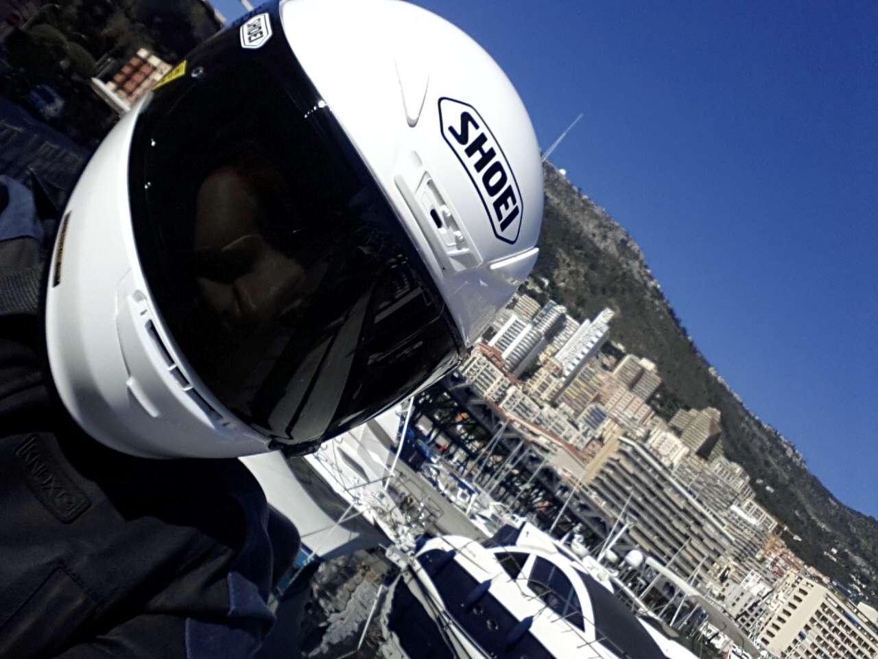 Monaco harbour...