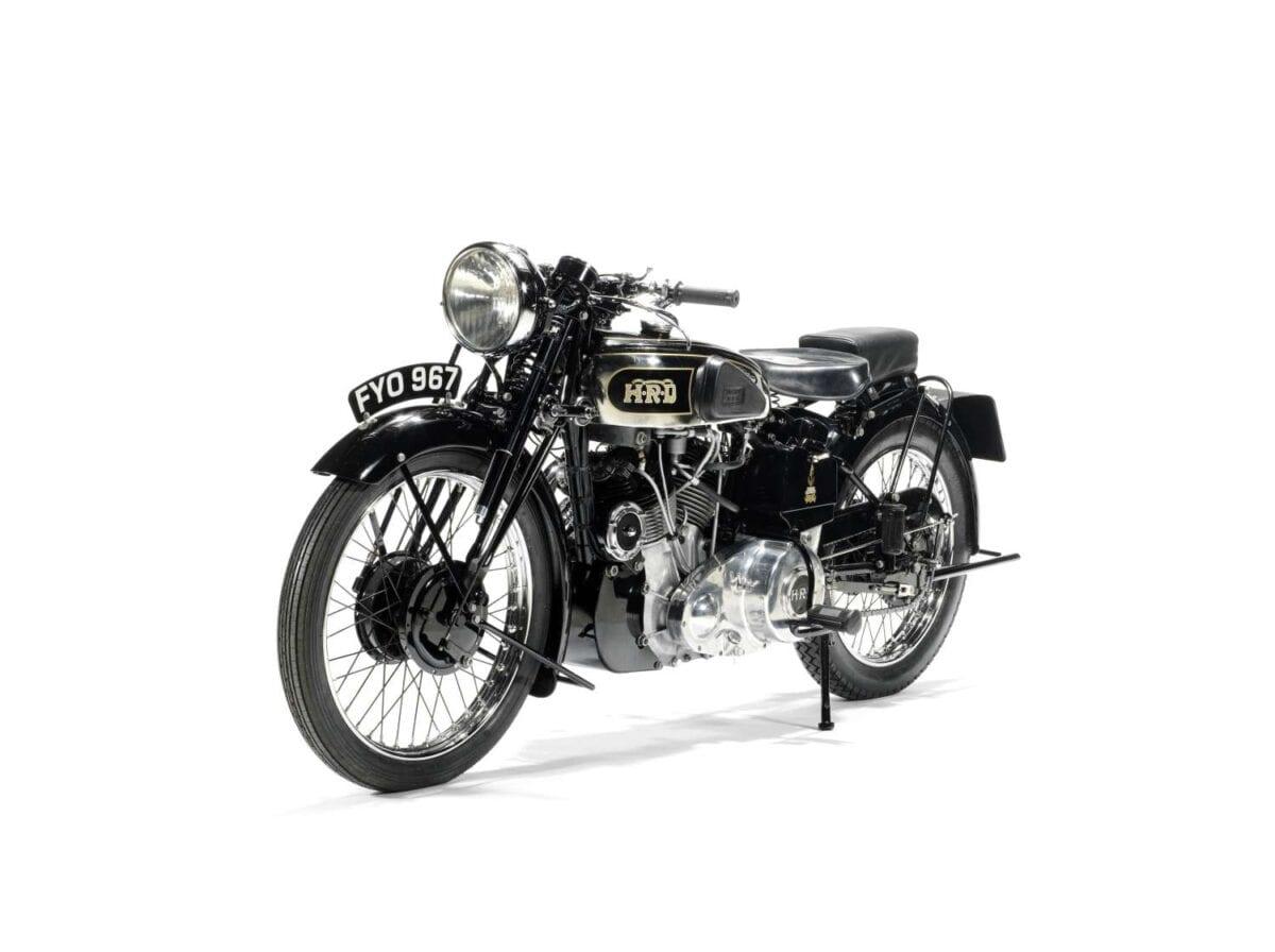 1939 Vincent-HRD 998cc Series-A Rapide - 2