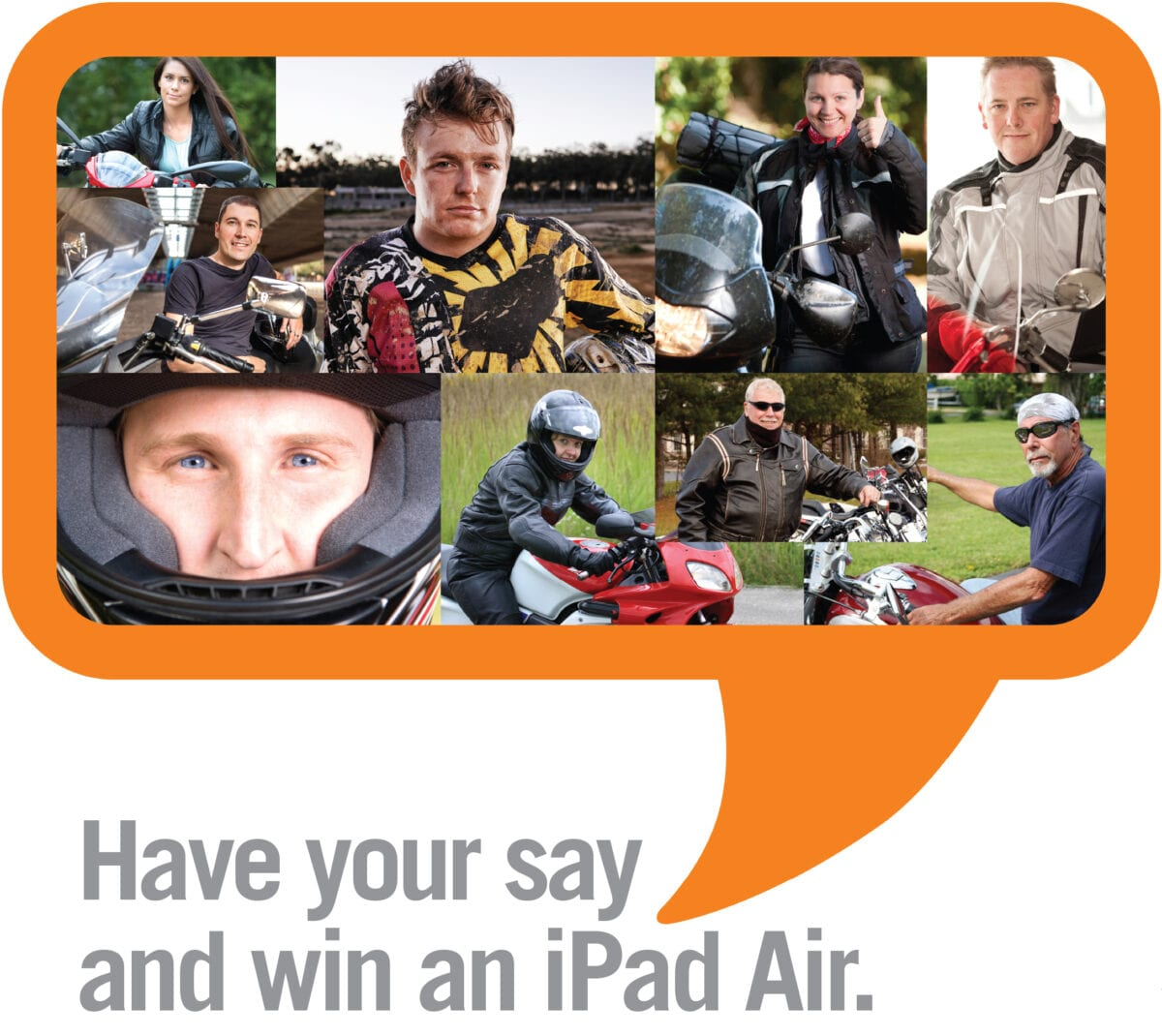 Have your say and win an ipad air