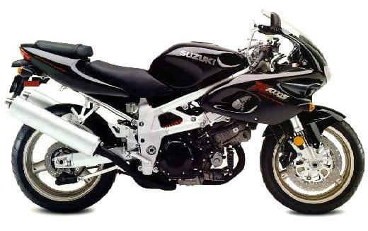 Suzuki superbike V-twin