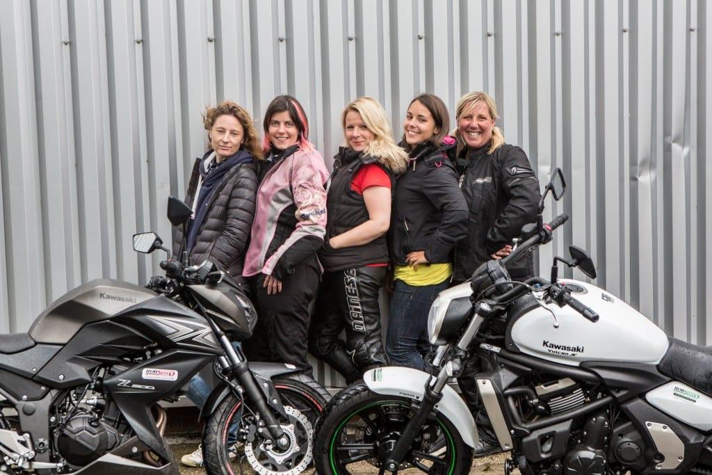 From Left: Tess Bickerstaff, Lara Marzec, Clare Scott, Emma Selway and Lise Jackson