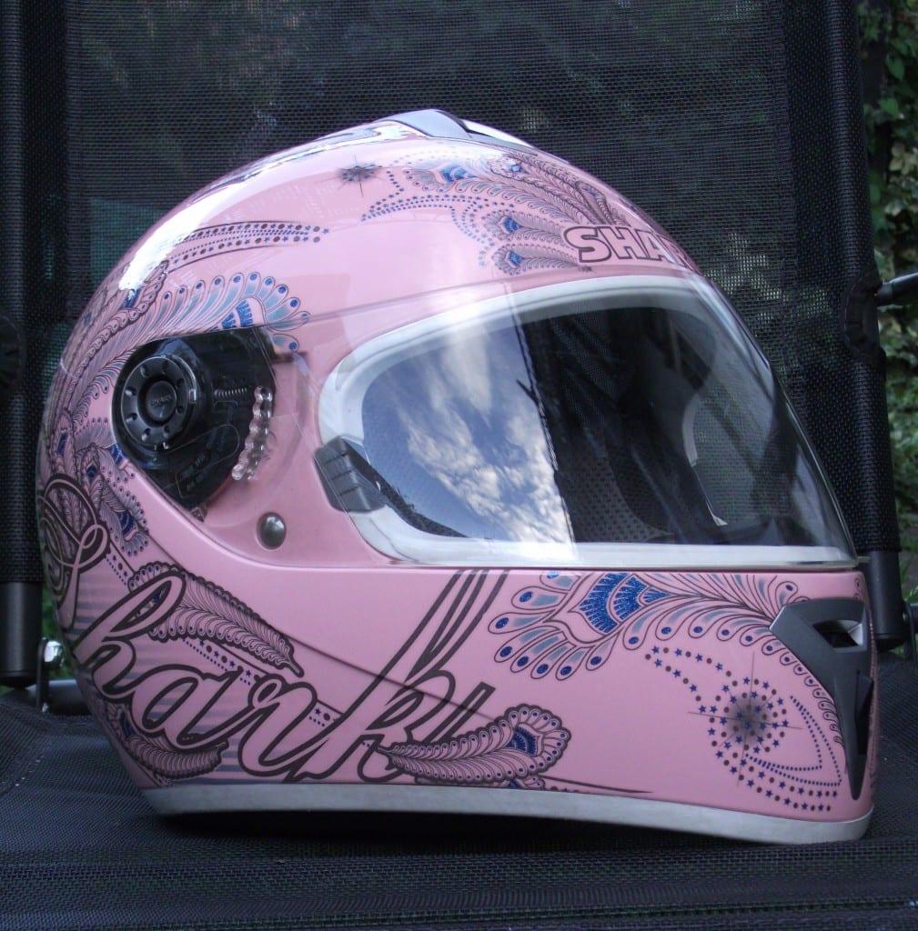 Shark S600 Folie helmet - side view