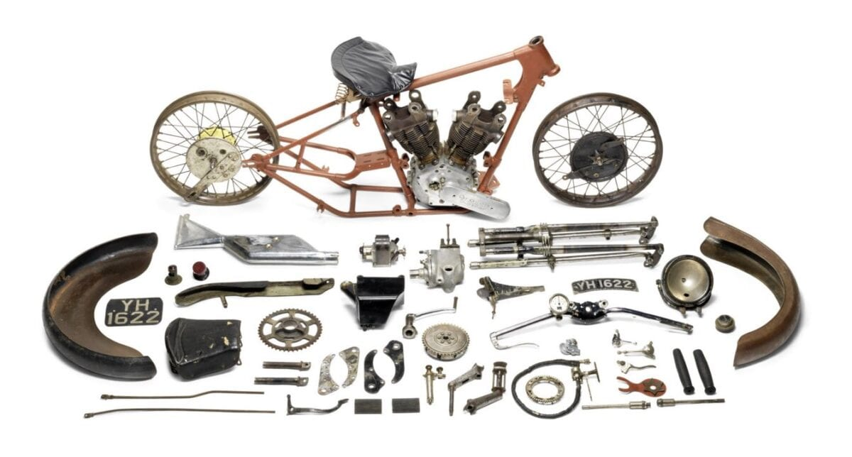 1927 Brough Superior 981cc SS100 Alpine Grand Sport project - £259,100
