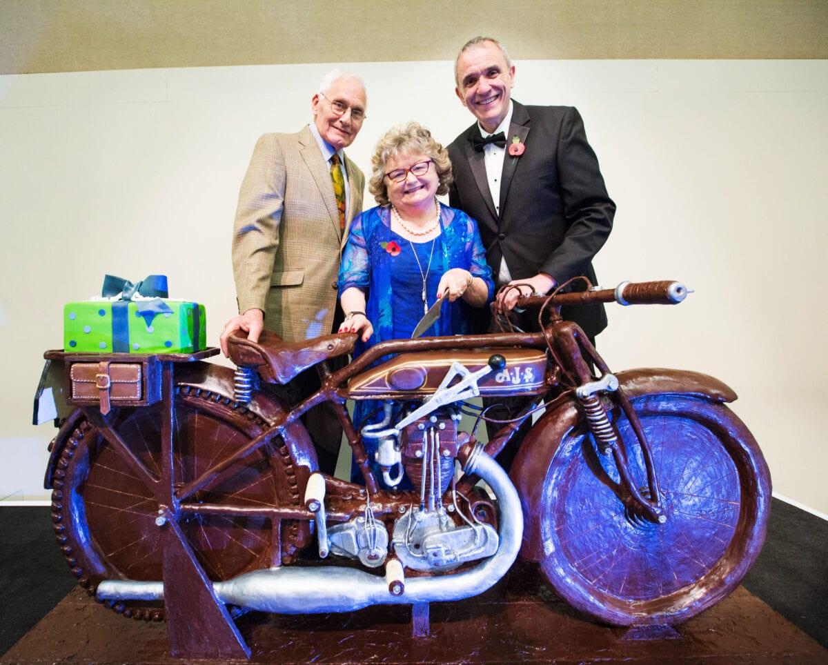 Carole Nash, David Newman and Ivan Rhodes at the 30th Birthday Celebrations