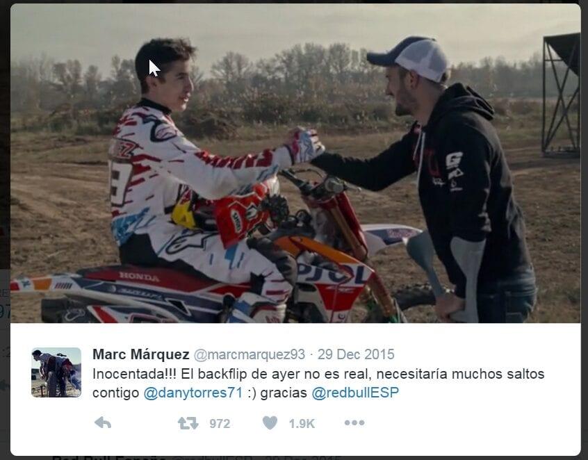 2016-01-04 10_41_00-Marc Márquez on Twitter_ _Inocentada!!! El backflip de ayer no es real, necesita