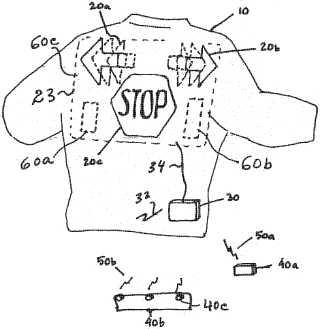 Jacket light patent