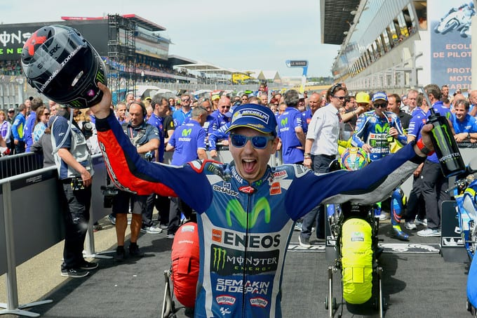 LORENZO Jorge (SPA) Movistar Yamaha MotoGP Yamaha MotoGP  GP France 2016 (Circuit Bugatti) 06-08.05.2016 PSP / Mateusz Jagielski www.photoPSP.com