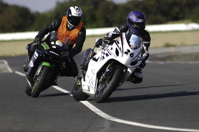 The MoreBikes motorcycle training day with British Superbike School