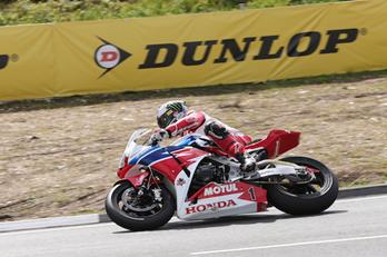 PACEMAKER, BELFAST 05/6/2014: John McGuinness (Honda Racing) pictured at the Creg ny Baa during practice for the 2014 Isle of Man Senior TT Race. PICTURE BY DAVE KNEEN