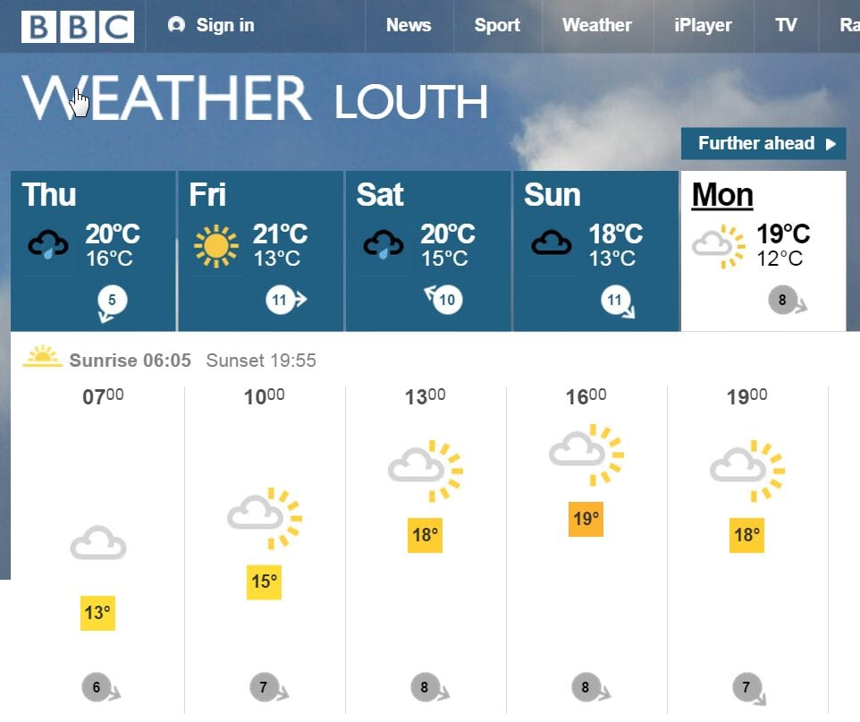 2016-08-25 10_00_10-BBC Weather - Louth