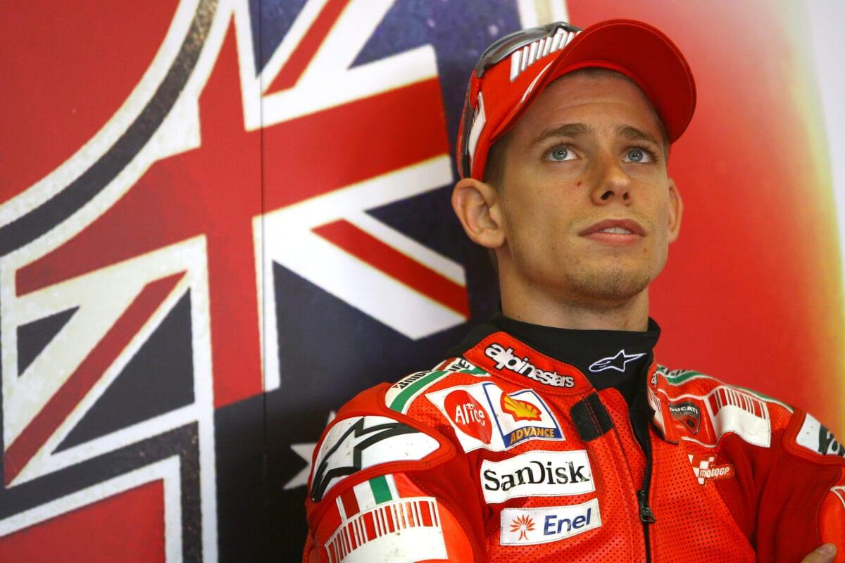 Stoner, German MotoGP 2008