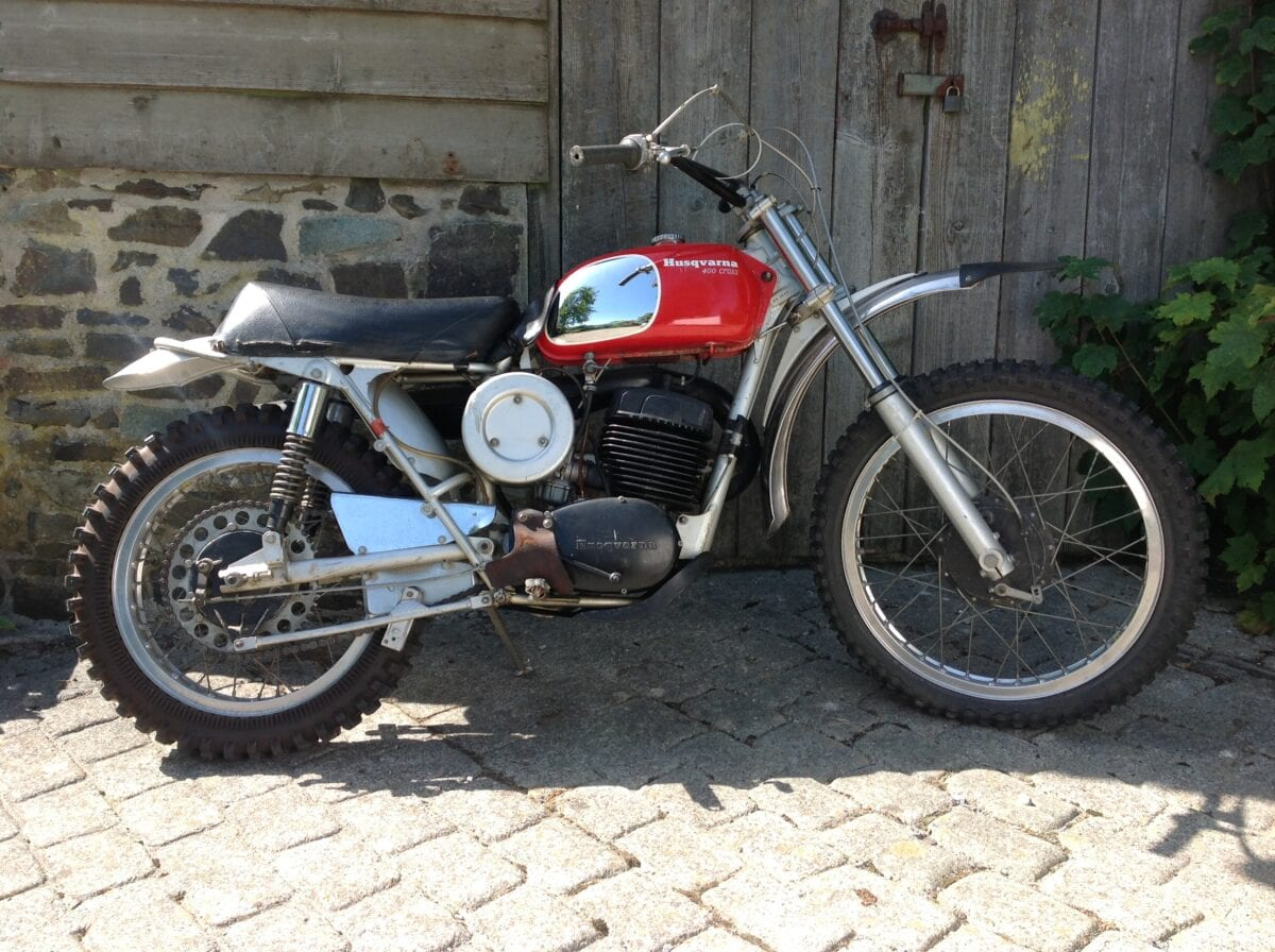 The Husky 400 Cross owned by Steve McQueen