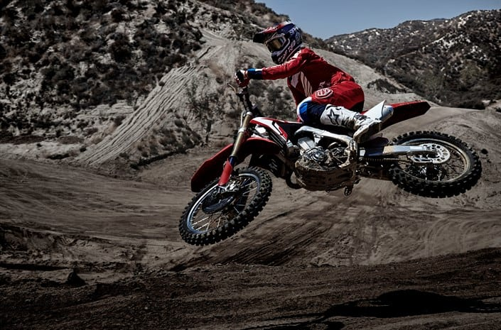 17YM CRF450R and new CRF450RX