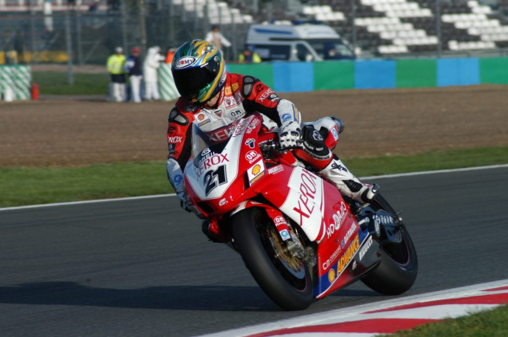 Troy Bayliss in the World Superbike Championship