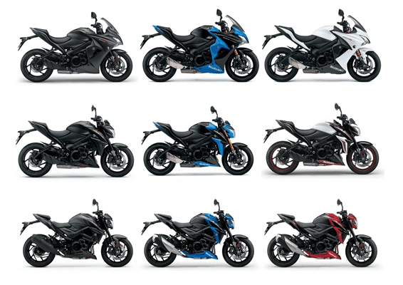 Suzuki Unveils New Gsx S1000fz Phantom And Colours For 2018 Gsx S Range Morebikes