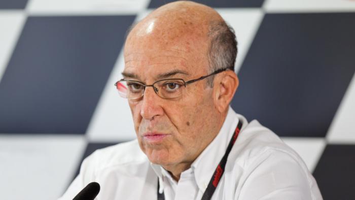 Carmelo Ezpeleta, Dorna boss and issuer of statements about the 2020 MotoGP season.