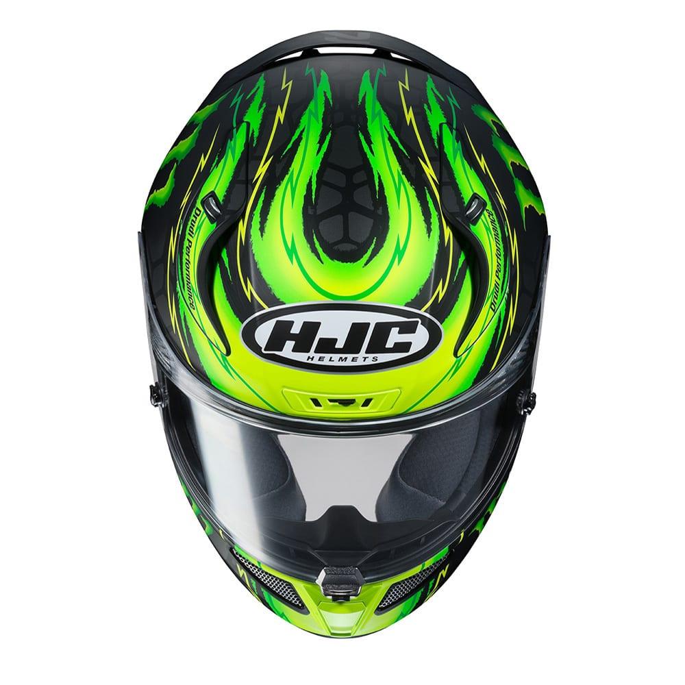 Opening image HJC helmet